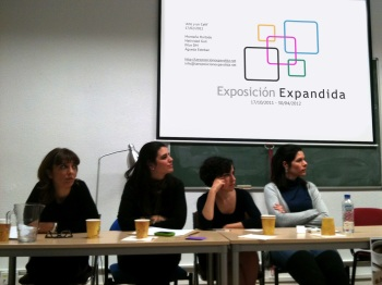 Nuestra presentación en #Arteyuncafé